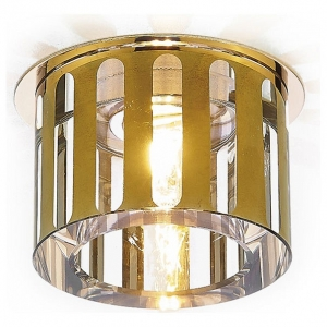 Встраиваемый светильник Ambrella Crystal 10 D1014 GD