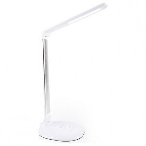 Настольная лампа офисная Ambrella DE52 DE524 SL серебро LED 3000-6400K 7W
