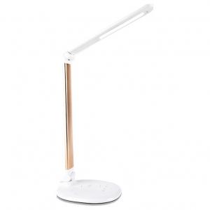 Настольная лампа офисная Ambrella DE52 DE525 GD золото LED 3000-6400K 7W
