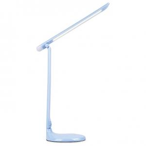 Настольная лампа офисная Ambrella DE55 DE550 BL голубой LED 3000-6400K 8W