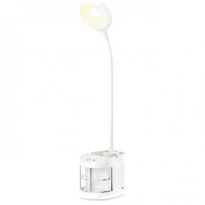 Настольная лампа офисная Ambrella DE56 DE561 WH белый LED 4200K 4W