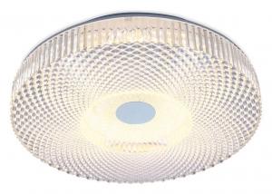 Накладной светильник Ambrella Orbital Crystal F96 CL 48W D390