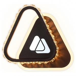 Накладной светильник Ambrella Ice FA237 CF кофе LED 4200K+6400K 19W 210*210*50