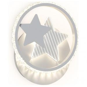 Накладной светильник Ambrella Ice 3 FA269 SGR серый песок LED 4200K 16W 240*210*50