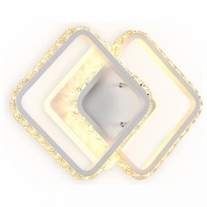 Накладной светильник Ambrella Ice 5 FA275 SWH белый песок LED 3000K+6400K 26W 340*200*70