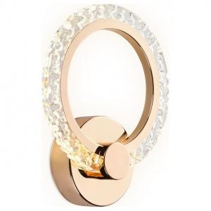 Накладной светильник Ambrella Original 6 FA419 GD золото 6400K/3000K/4200K 12W 230*190*60