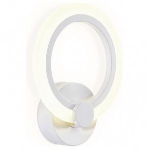 Накладной светильник Ambrella Original 7 FA529 WH белый 6400K/3000K/4200K 12W 230*190*60