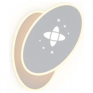 Накладной светильник Ambrella Wall FW109 SGR серый песок LED 3000K+6400K 20W 230*140*50