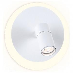 Спот Ambrella Wall 7 FW260 SWH белый песок LED 4200K 12W+3W D230*120