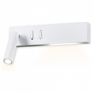 Бра Ambrella Wall 9 FW285 SWH белый песок LED 4200K 3W+3W 260*50*65
