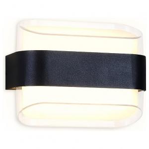 Накладной светильник Ambrella Wall 11 FW301 SBK черный песок LED 3000К 10W 160*130*75