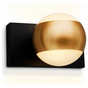 Спот Ambrella Wall 16 FW571 SBK/GD черный песок/золото G9 max 40W 100*70*85