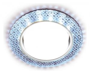 Встраиваемый светильник Ambrella GX53 G296 G296 CL/CLD