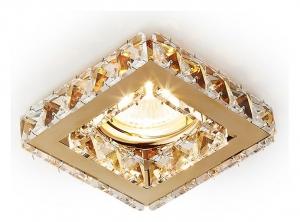 Встраиваемый светильник Ambrella Crystal K110 K110 CL/G