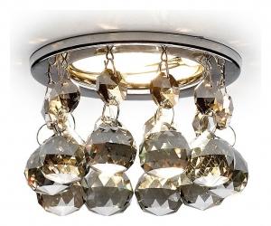 Встраиваемый светильник Ambrella Crystal K2051 K2051C KF/CH