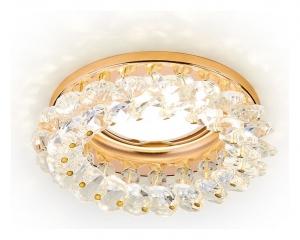 Встраиваемый светильник Ambrella Crystal K206 K206 CL/G