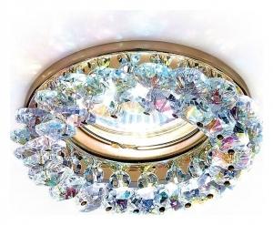 Встраиваемый светильник Ambrella Crystal K206 K206 MULTI/G