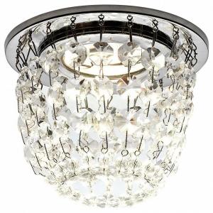 Встраиваемый светильник Ambrella Crystal K2075 K2075 CH/CL
