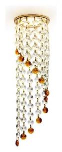 Встраиваемый светильник Ambrella Crystal K3440 K3440 CL/BR/G