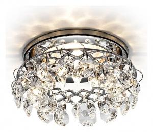 Встраиваемый светильник Ambrella Crystal K7070 K7070 CL/CH