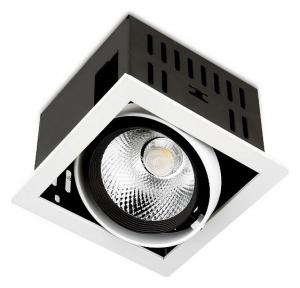 Встраиваемый светильник Ambrella Cardano T811 BK/CH 12W 4200K