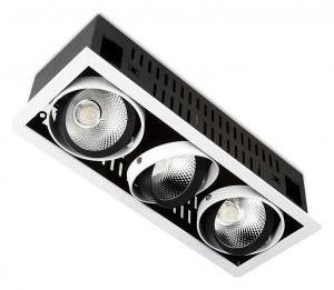 Встраиваемый светильник Ambrella Classic T81 T813 BK/CH 3*12W 4200K