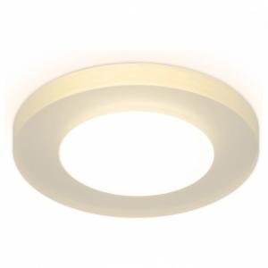 Встраиваемый светильник Ambrella TN137 TN137 WH/FR белый/матовый GU5.3 D90*25