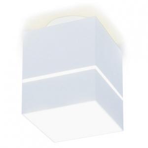 Накладной светильник Ambrella TN257 TN257 WH/S белый/песок LED 4200K 7W 80*80*100