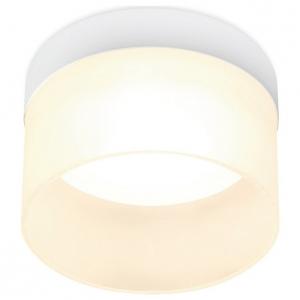 Встраиваемый светильник Ambrella TN65 TN650 SWH белый песок GX53 D90*45