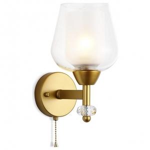Бра Ambrella Traditional 7 TR3159 GD/CL золото/прозрачный E27 max 40W 253*145*193