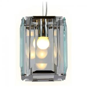 Подвесной светильник Ambrella Traditional 6 TR5107 CH/CL хром/прозрачный E27/1 max 40W 150*150*1200