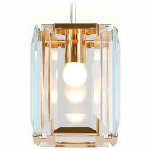 Подвесной светильник Ambrella Traditional 6 TR5108 GD/CL золото/прозрачный E27/1 max 40W 150*150*1200