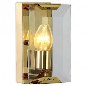 Накладной светильник Ambrella Traditional 6 TR5157 GD/CL золо/прозрачный E14/1 max 40W 210*130*100