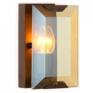 Накладной светильник Ambrella Traditional 6 TR5158 CF/TI кофе/янтарь E14/1 max 40W 210*130*100