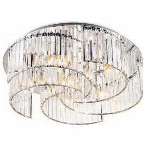 Накладной светильник Ambrella Traditional 2 TR5205/6 CH/CL хром/прозрачный E27/6 max 40W D600*180