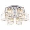 Накладной светильник Ambrella Traditional 3 TR5209/6 CH/CL хром/прозрачный E27/6 max 40W D550*180