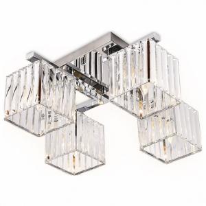 Накладной светильник Ambrella Traditional 4 TR5213/4 CH/CL хром/прозрачный E27/4 max 40W 630*630*220