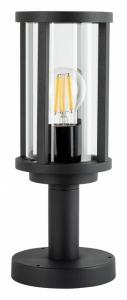 Наземный низкий светильник Arte Lamp Toronto A1036FN-1BK