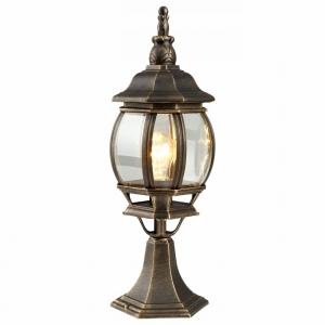 Наземный низкий светильник Arte Lamp Atlanta A1044FN-1BN