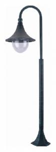 Наземный высокий светильник Arte Lamp Malaga A1086PA-1BG