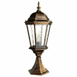 Наземный низкий светильник Arte Lamp Genova A1204FN-1BN