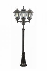 Фонарный столб Arte Lamp Genova A1207PA-3BN