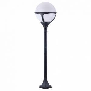 Наземный высокий светильник Arte Lamp Monaco A1496PA-1BK