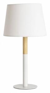 Настольная лампа декоративная Arte Lamp Connor A2102LT-1WH