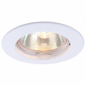 Встраиваемый светильник Arte Lamp Basic A2103PL-1WH