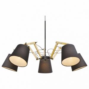 Подвесная люстра Arte Lamp Pinocchio A5700LM-5BK
