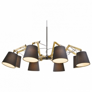 Подвесная люстра Arte Lamp Pinocchio A5700LM-8BK