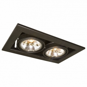Встраиваемый светильник Arte Lamp Technika 2 A5930PL-2BK