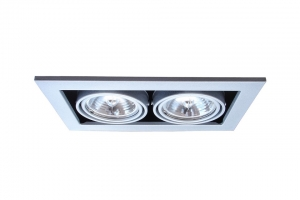Встраиваемый светильник Arte Lamp Technika 2 A5930PL-2SI
