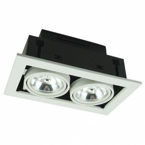 Встраиваемый светильник Arte Lamp Technika 2 A5930PL-2WH